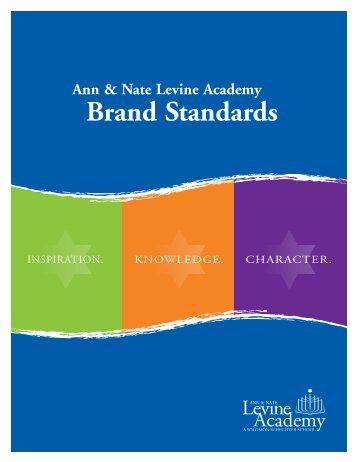 Brand Standards - Partnership for Excellence in Jewish Education
