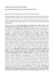 Leggi intervento - Roberto Bombarda