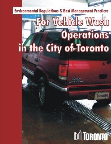 Car Wash (November 2005) - City of Toronto