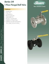 Series 54.indd - Sharpe® Valves