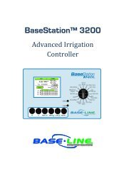 BaseStation 3200 User Manual - Baseline Systems