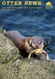 OTTER NEWS - The International Otter Survival Fund