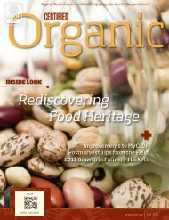 Rediscovering Food Heritage - CCOF