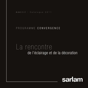 Additif catalogue Sarlam