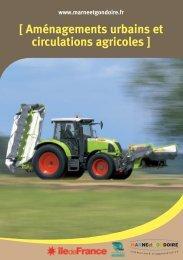[ Aménagements urbains et circulations agricoles ] - Communauté d ...