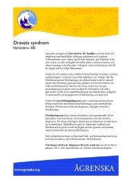 Dravets syndrom nr 382 - Ågrenska