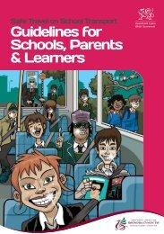 School Travel Book RCT - Rhondda Cynon Taf