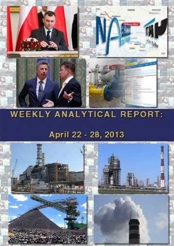 Weekly analytical report: April 22 - 28, 2013 - Українська ...