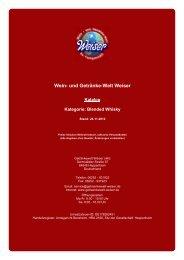 Katalog für Kategorie: Blended Whisky - Wein
