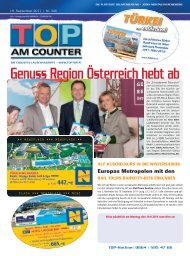 rail tours bahncity-hits erkunden - top am counter