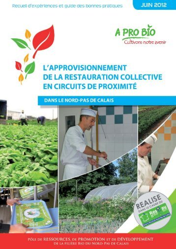 L'approvisionnement de la restauration collective en ... - A PRO BIO