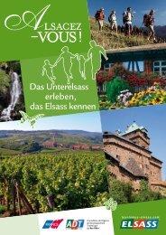 Das Unterelsass erleben, das Elsass kennen - Agence de ...