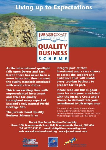 quality_business_scheme_flyer - Jurassic Coast