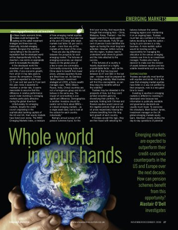 Whole world in your hands - Engaged Investor