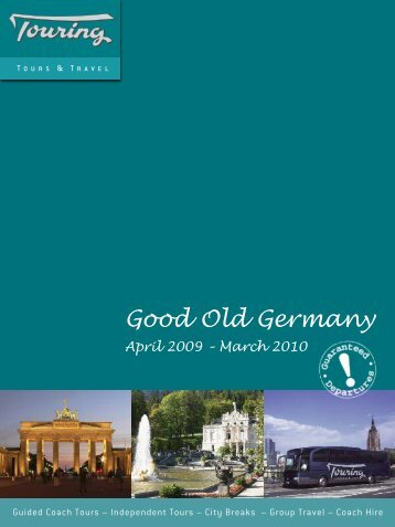 Good Old Germany April 2009 – March 2010 - Bad Request