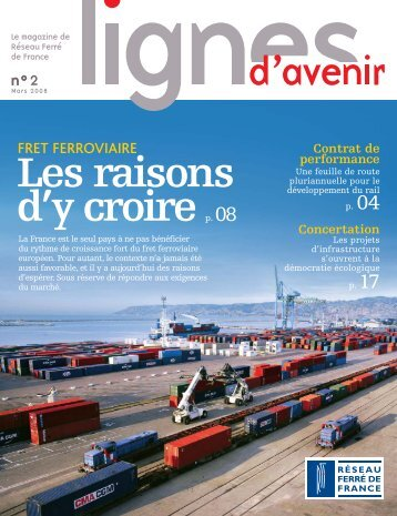 magazine Lignes d'avenir n° 2 - RFF