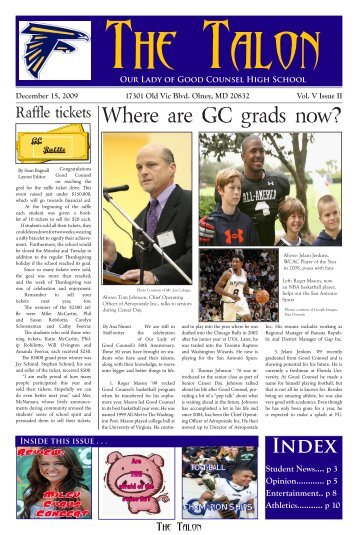 athletics - Our Lady of Good Counsel High School