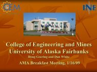 AY 2006/07 in review - Alaska Miners Association