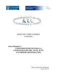 Comandos Básicos de Red - Universidad de Alcalá