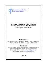 Apostila QBQ 230N - Instituto de Química - USP