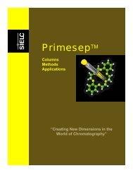 Primesep Columns, Methods, Applications