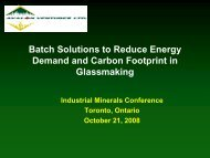 Batch Solutions To Reduce Energy Demand And Carbon Footprint