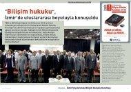 """""""Bilişim hukuku"""", İzmir'de uluslararası boyutuyla ... - Bilişim Dergisi"""