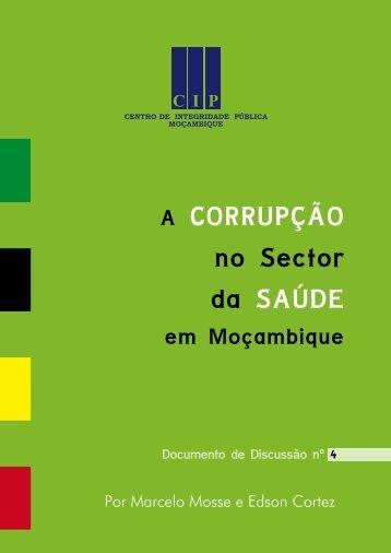 A corrupcao no sector da Saúde.pdf - CIP