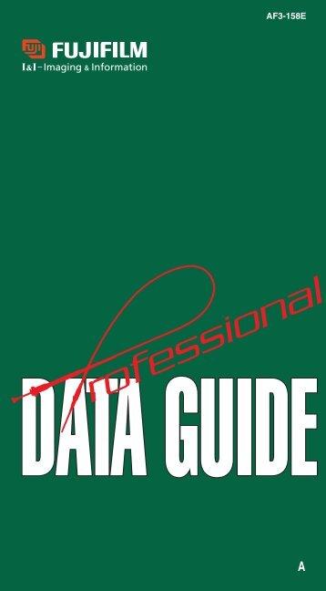 Fuji Professional Dataguide - Silverprint