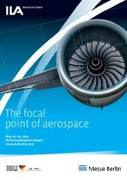 ILA Berlin Air Show – Brochure - ILA Berlin Air Show 2014
