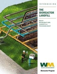 The Bioreactor Landfill - Waste Management