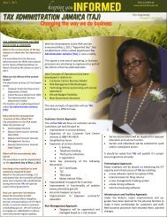 May 2011 - Tax Administration Jamaica