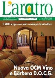 Nuova OCM Vino e Barbera D.O.C.G. - Confagricoltura Alessandria
