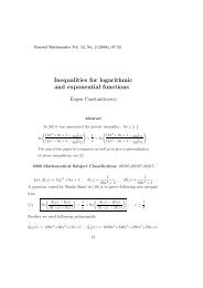 Inequalities for logarithmic and exponential functions