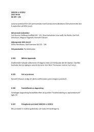 Domarkommittén protokoll 4-2012 - Svenska Kennelklubben