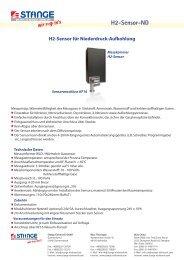 H2-Sensor-ND - Stange Elektronik GmbH
