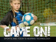 SPORTS AND TODAY'S HEARING TECHNOLOGY