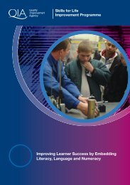 Improving Learner Success by Embedding Literacy, Language and ...