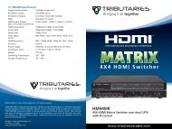 HM440IR - Tributaries Cable