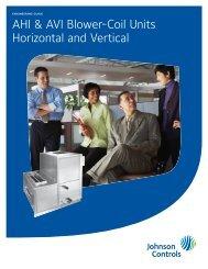 AHI & AVI Blower-Coil Units Horizontal and Vertical ... - Usair-eng.com