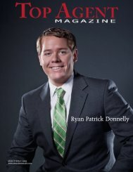Ryan Patrick Donnelly - Top Agent Magazine