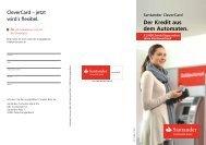 CleverCard - Santander Consumer Bank