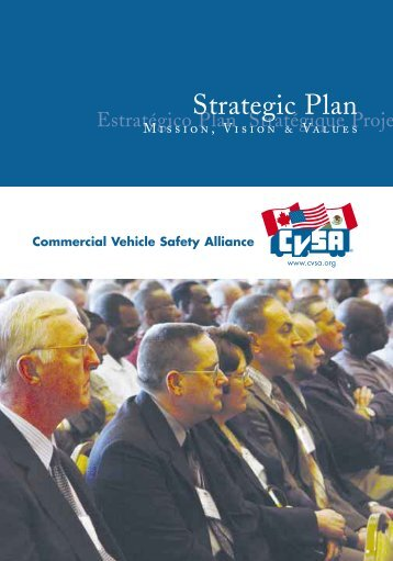 Strategic Plan - Commercial Vehicle Safety Alliance