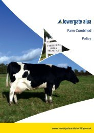 Farm Combined Policy Wording - Towergate Underwriting