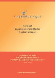 PDF, 2,8 MB - QuArt@Kindermusiktage eV