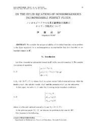 on the euler equations of nonhomogeneous incompressible perfect ...