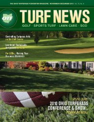 THE OHIO TURFGRASS FOUNDATION MAGAZINE - Powered By ...