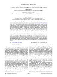 Modulated Rashba interaction in a quantum wire - APS Link ...