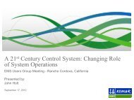 A 21st Century Control System - EMS Users Conference