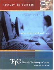 TTC Brochure - Tuscola Intermediate School District
